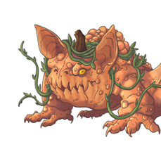 Goard Growler - Pumpkin Bat Toad