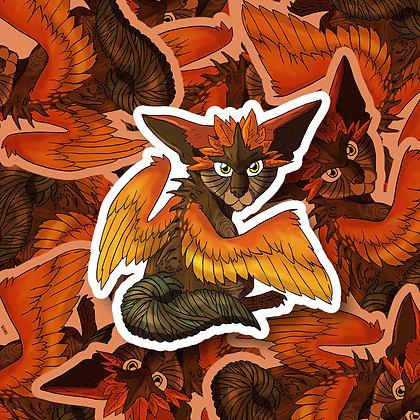 Coille the Forest Spirit Sticker