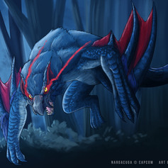 Nargacuga Fan Art