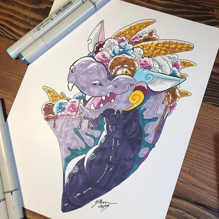 #13 - Ice Cream Dragon