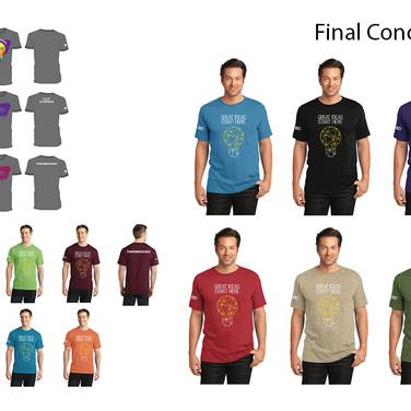 Spirit of Innovation Shirt Design