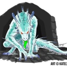 Blue Dragon Slug