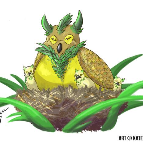 Fruit Animal - Pineowlpple