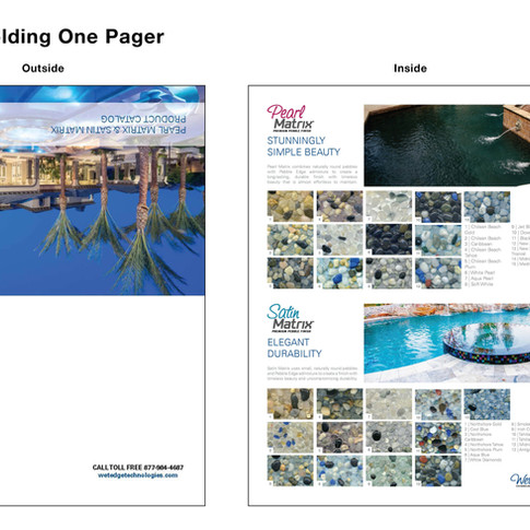 Wet Edge Folding One Pager
