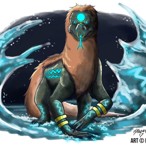 Egyptian God of Water
