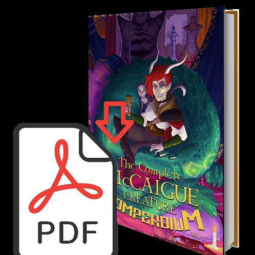 DIGITAL - The Complete McCaigue Creature Compendium