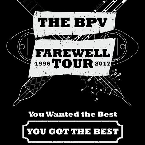 Farewell Tour T-Shirt Design - Front