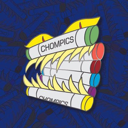 Chompics Enamel Pin