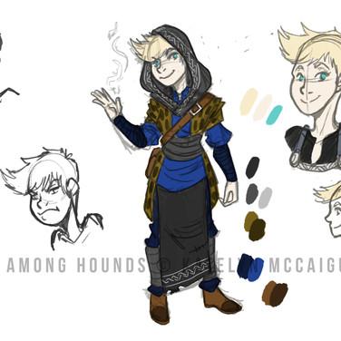 Fox Among Hounds Gwyen Concept
