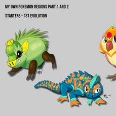 Pokemon Region Exploration