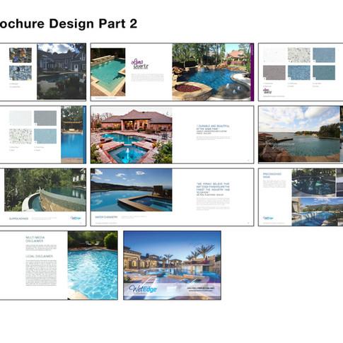Wet Edge Brochure Design