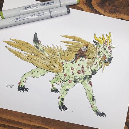 Pestilence Dragon