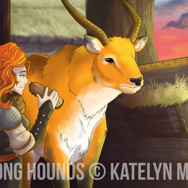 Fox Among Hounds Promo Frame