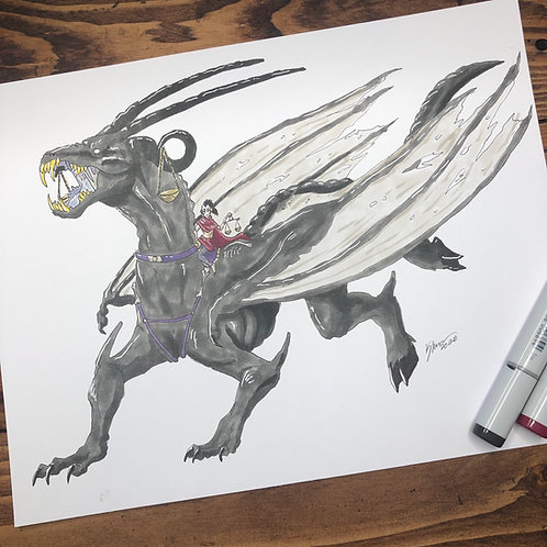 Famine Dragons