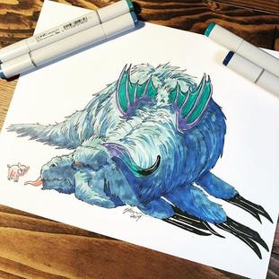 #17 - 7 Deadly Sins - Sloth Dragon
