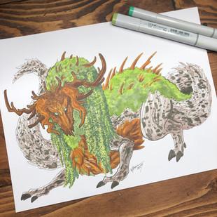 100 Dragon Challenge - Tree Dragon