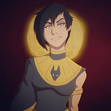 Zahra Character Portrait