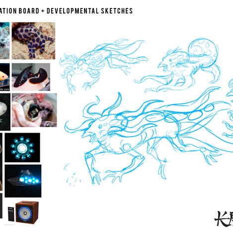 Metal Kraken Process Board