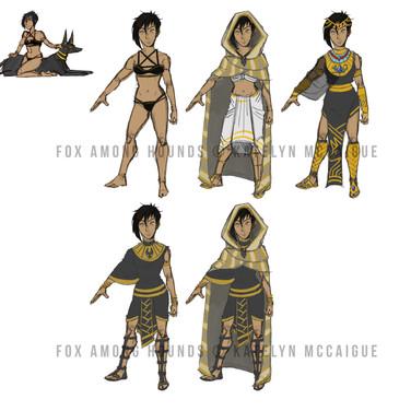 Fox Among Hounds Zahra Outfits