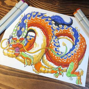 #12 - New Years Dragon
