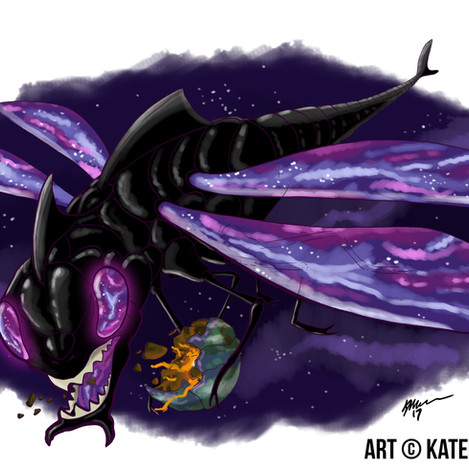 Space Cutter Shark Dragonfly