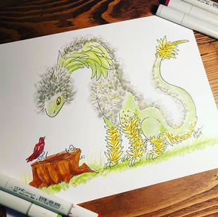 #6 - Dandelion Dragon