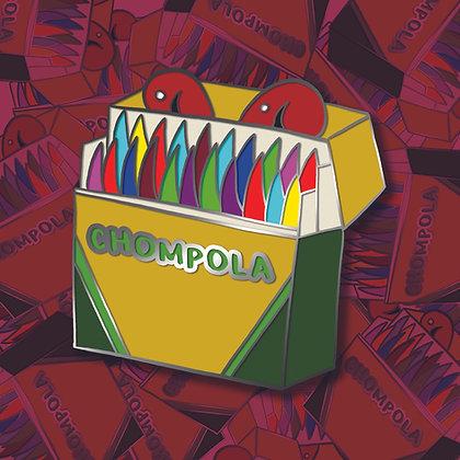 Chompola Enamel Pin