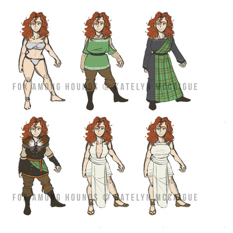 Fox Among Hounds Aina Outfits