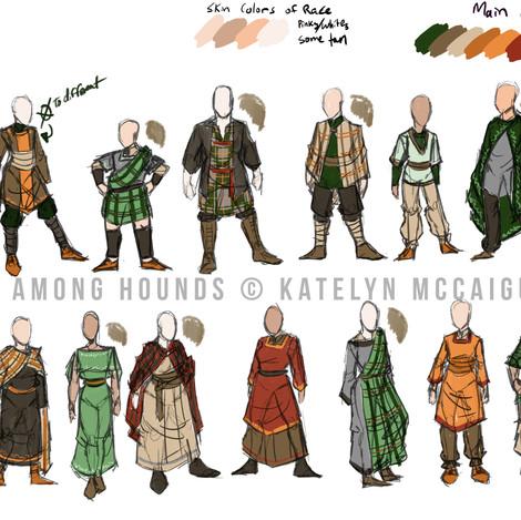 Fox Among Hounds - Fox Outfits