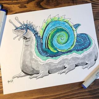 #14 - Snail Dragon