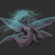 Goblin Shark Jellyfish Fairy