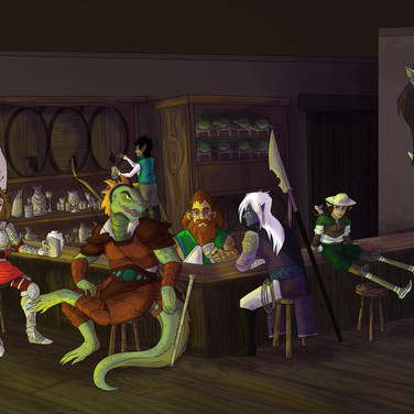 Adventurers Party Commission