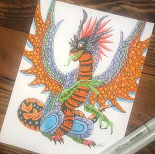 Alebrije Dragon