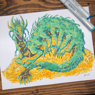 100 Dragon Challenge - Greed Dragon