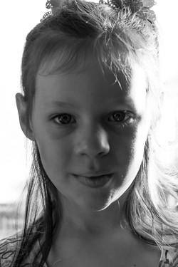 Bright Light Portrait