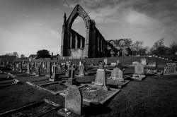 Bolton Abbey monochrome