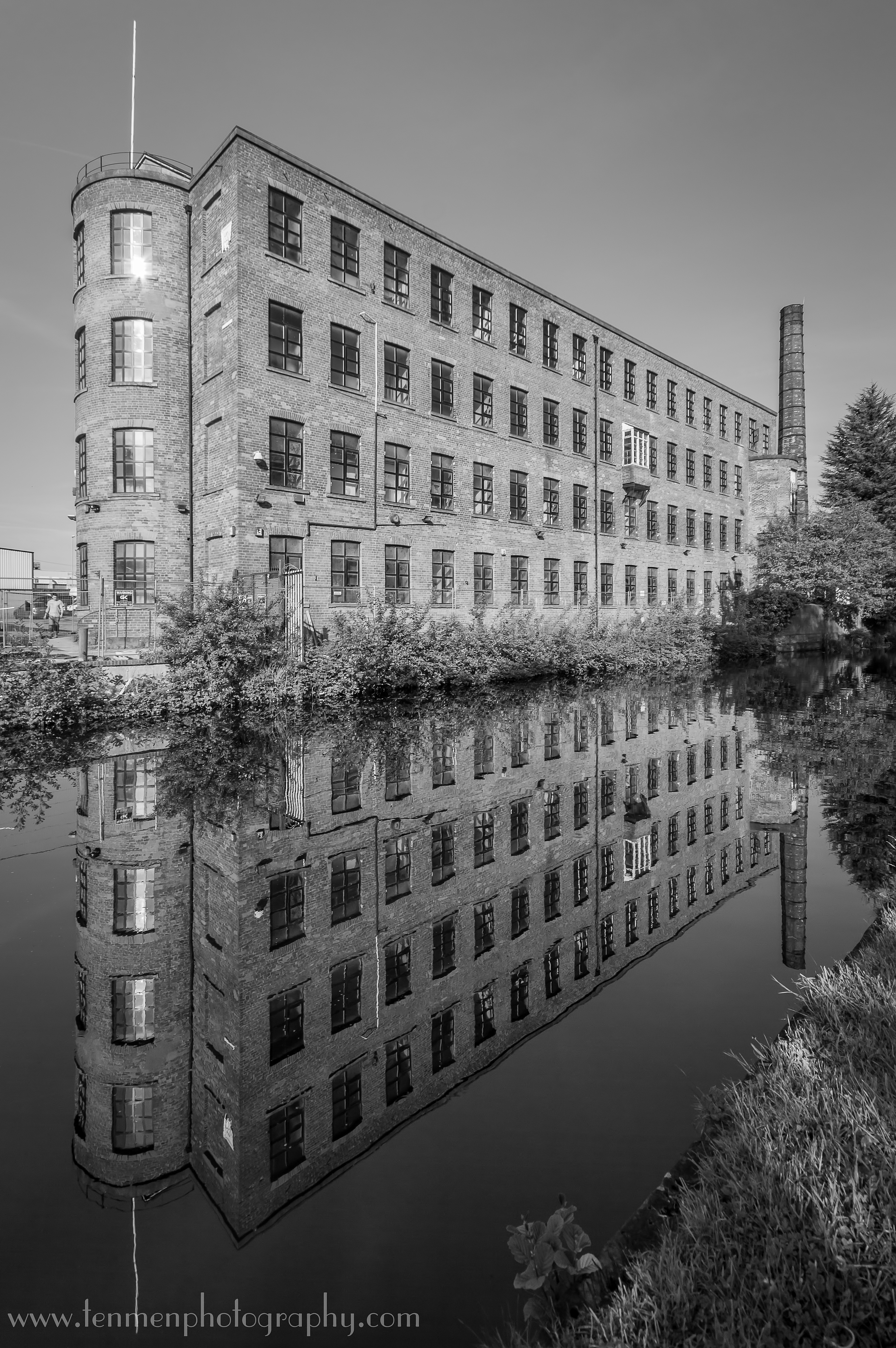 Factory by the Canal