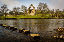 Abbey & Stepping Stones