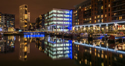 Clarence Dock Barges