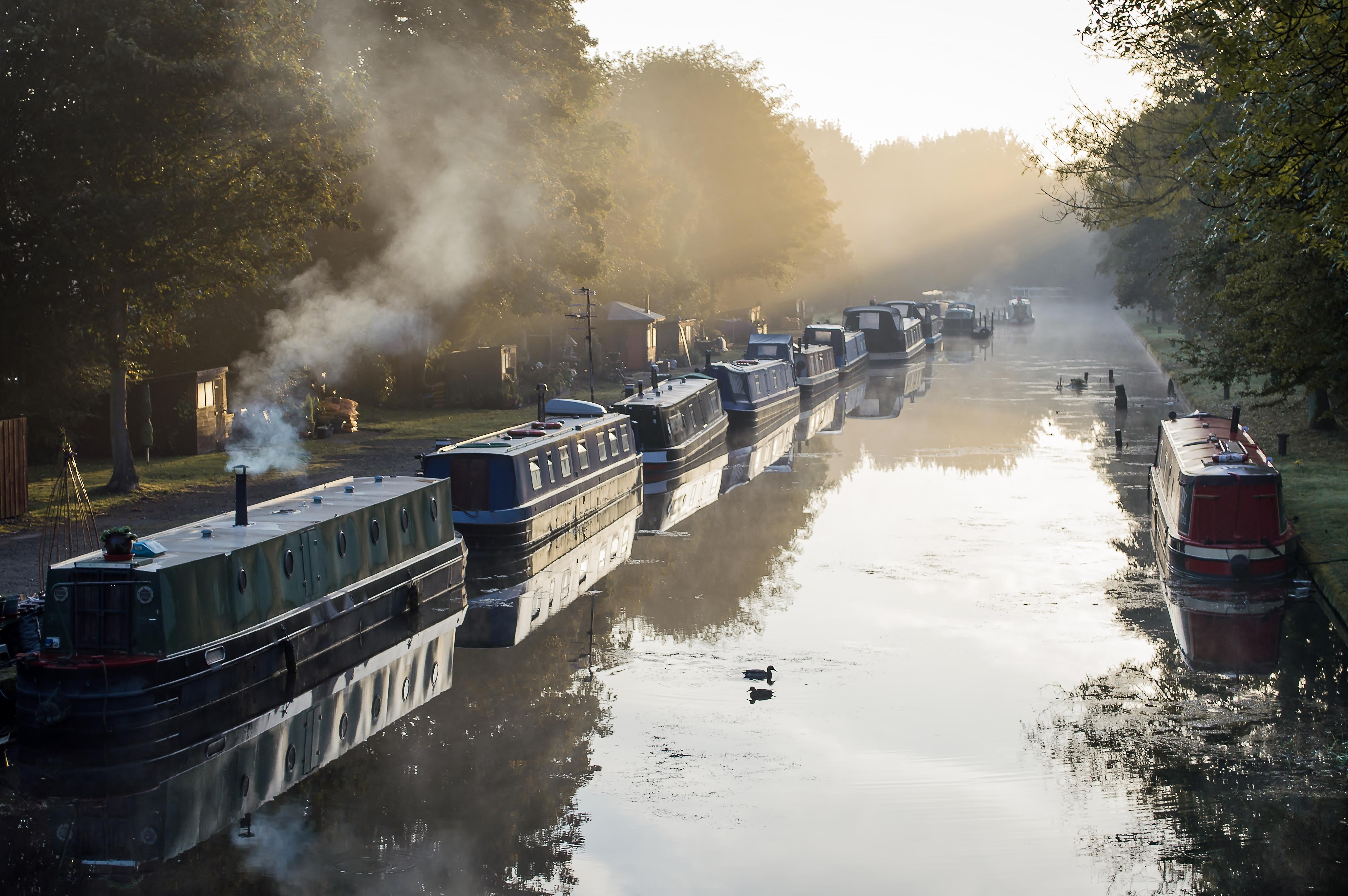 Sunbeams & Barges