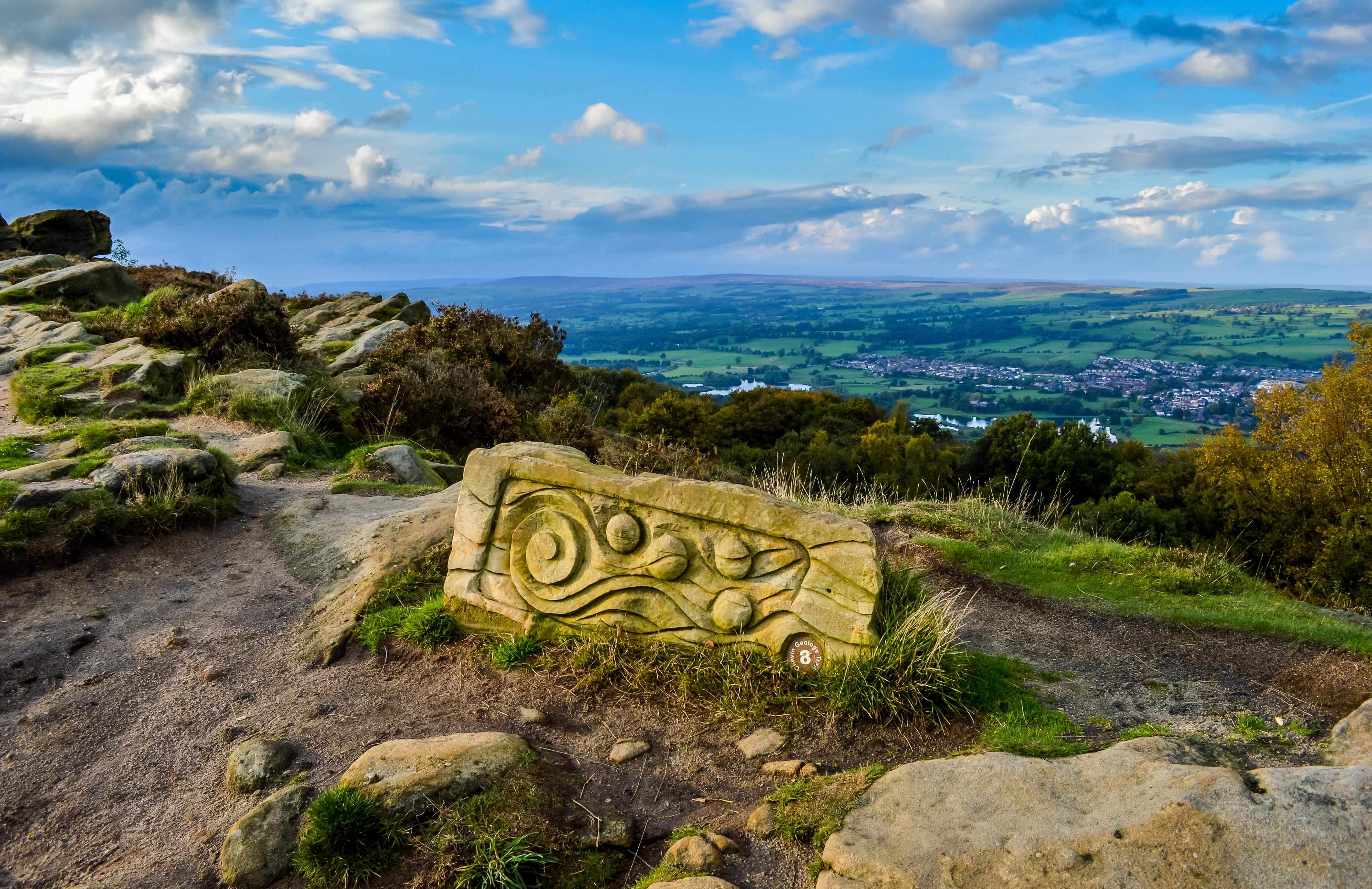 Otley Chevin Carving