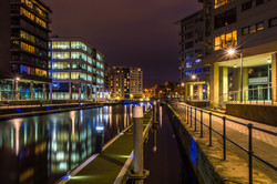 Towpath & Jetty at Clarence Dock