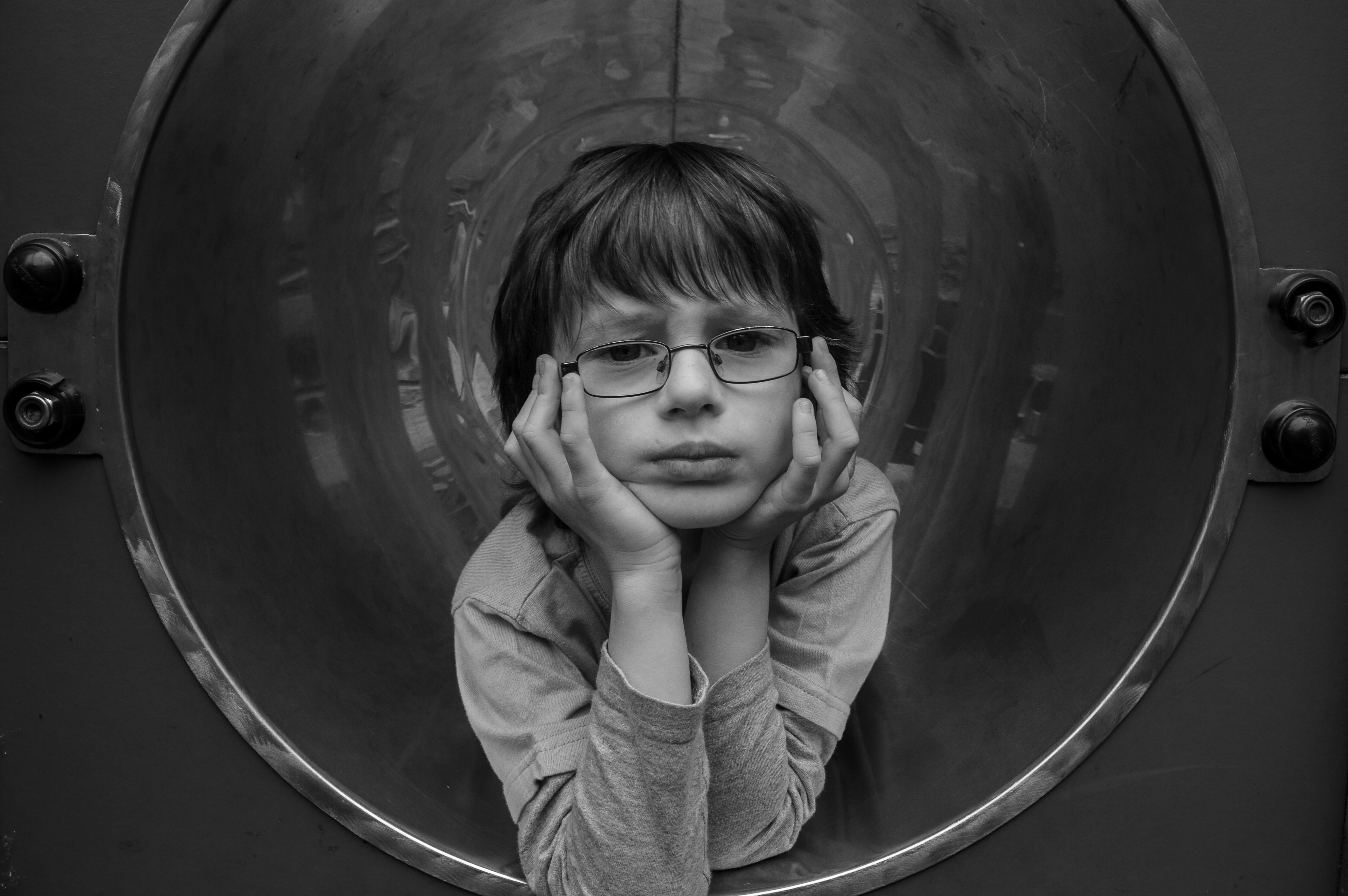 Boy in a Tube