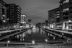 Clarence Dock by Night II