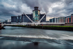 Royal Armouries & the River Aire