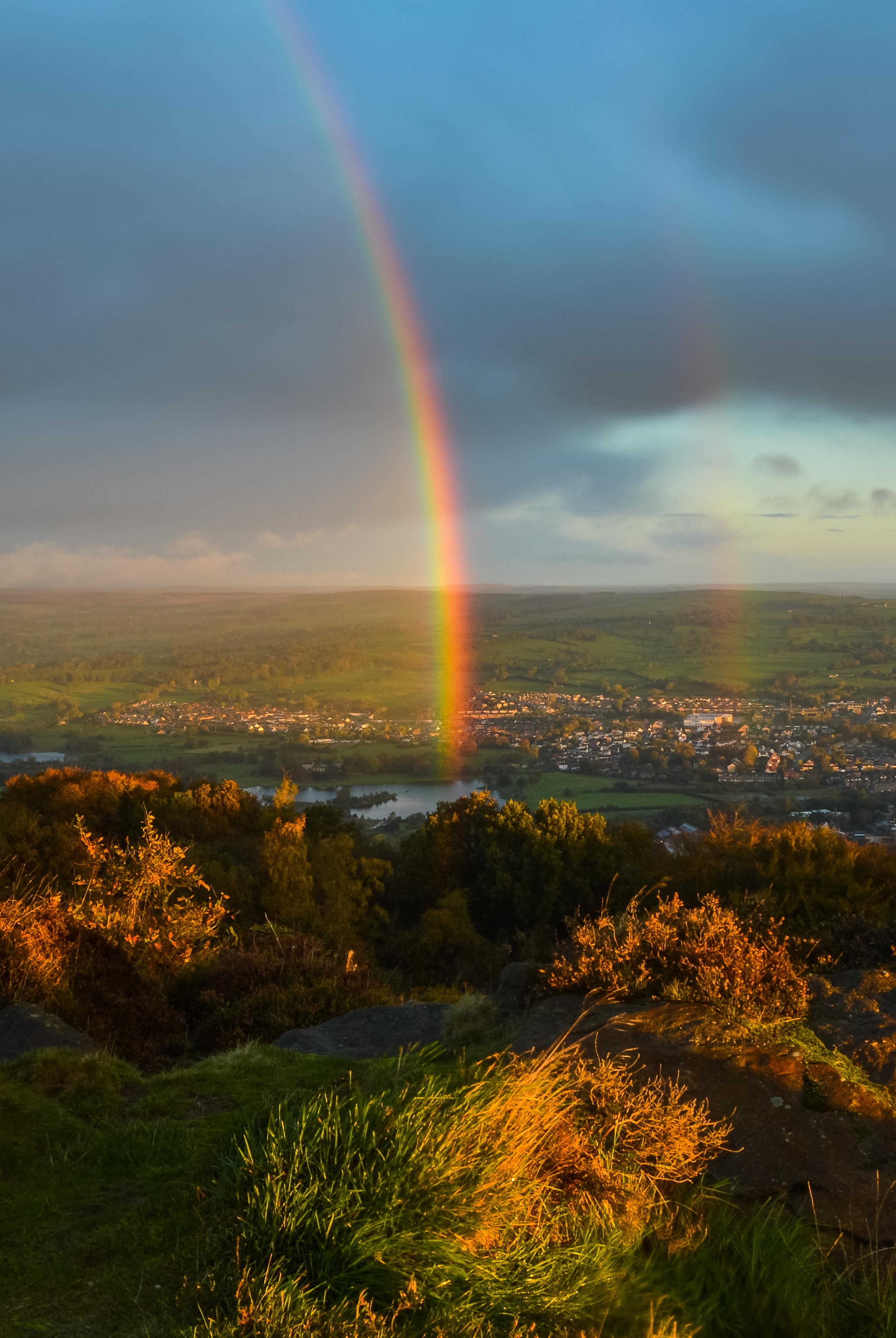 Rainbow over Otley