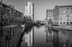 Bridgewater by the River Monochrome