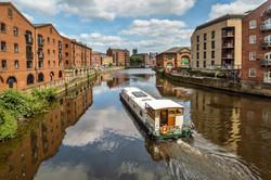 Barging Through Leeds