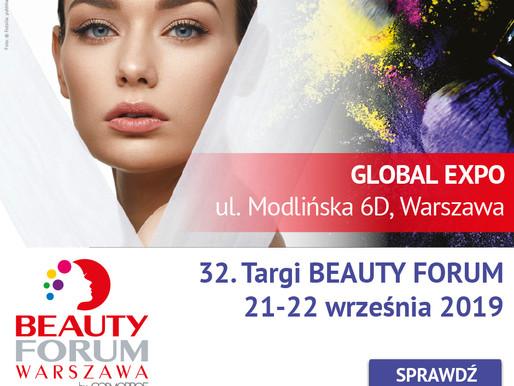 Targi Beauty Forum - jesień 2019!