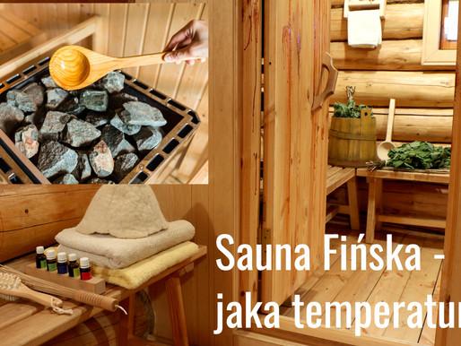 Jak temperatura w saunie fińskiej ...?